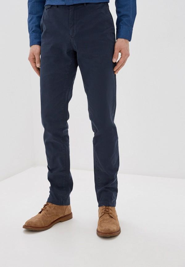 мужские повседневные брюки calvin klein, синие