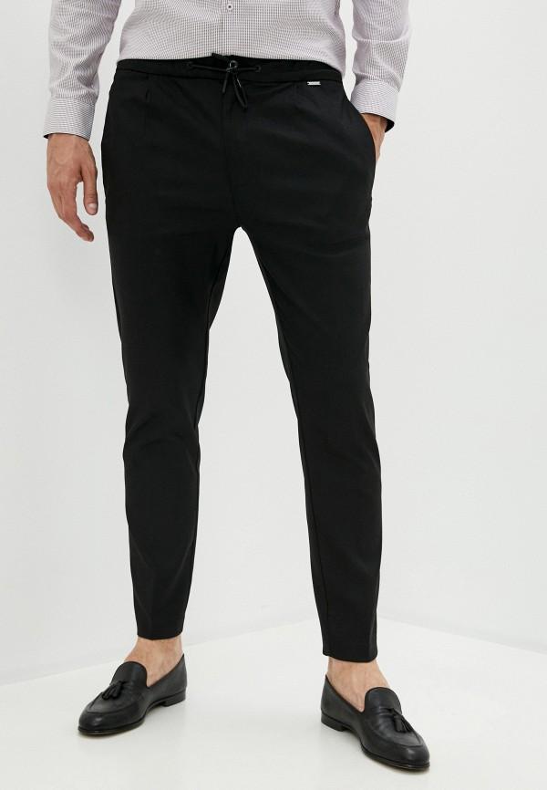 мужские брюки джоггеры calvin klein, черные