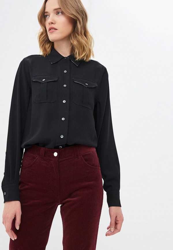 Рубашка Calvin Klein Calvin Klein CA105EWCOKJ4 calvin klein new white black open front women s 12 textured jacket $149 038