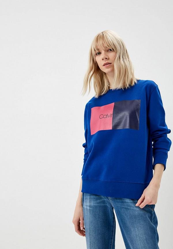 лучшая цена Свитшот Calvin Klein Calvin Klein CA105EWDOWH3