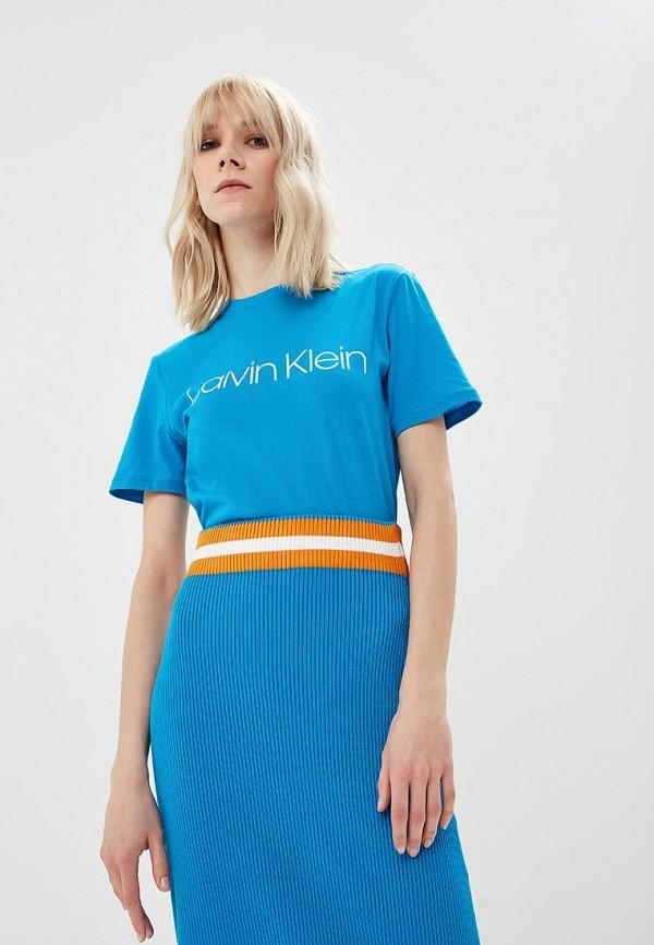 Футболка Calvin Klein Calvin Klein CA105EWDOWH9 все цены