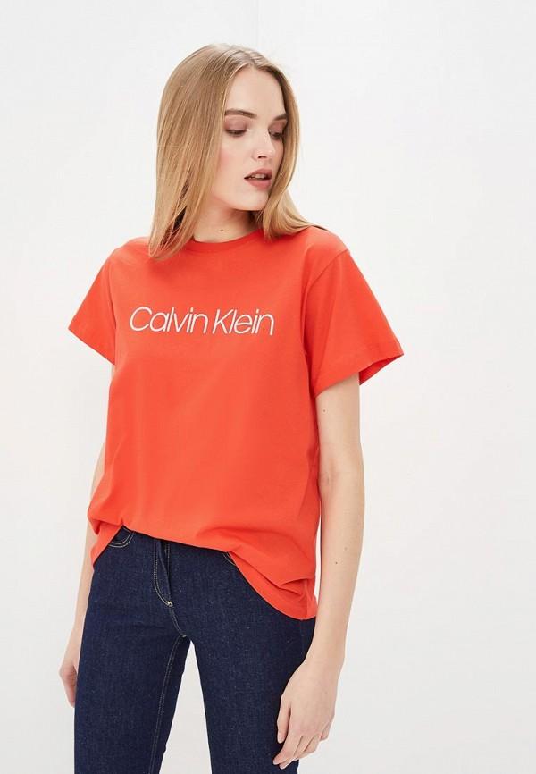 Футболка Calvin Klein Calvin Klein CA105EWEGSC3 все цены