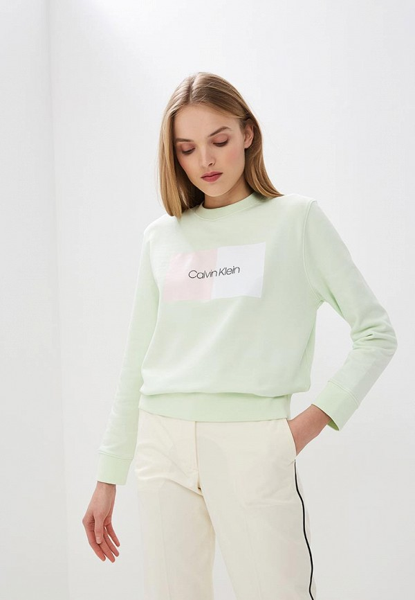 лучшая цена Свитшот Calvin Klein Calvin Klein CA105EWEGSD6