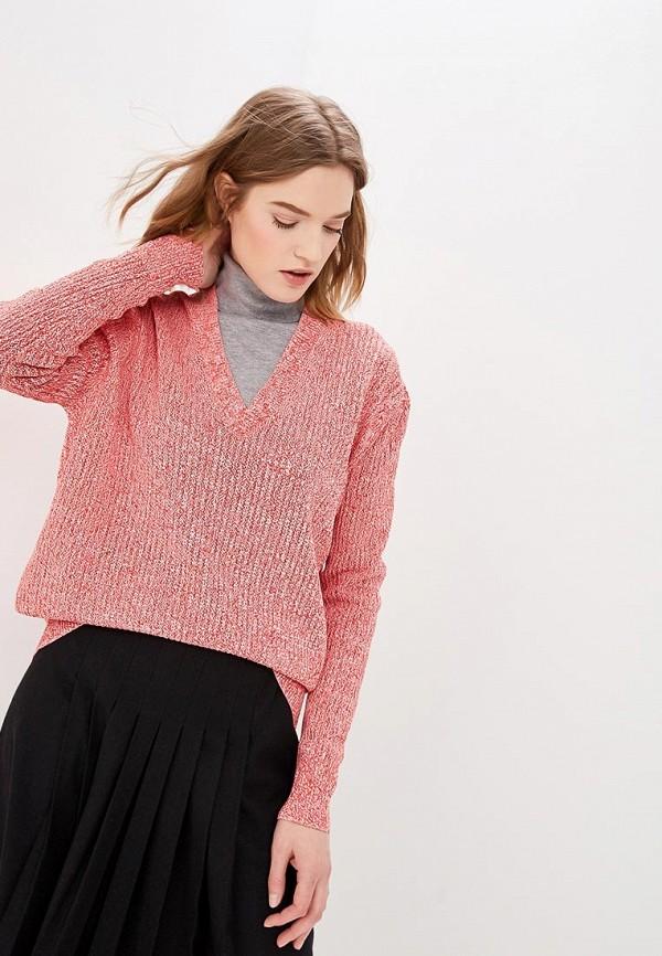 женский пуловер calvin klein, розовый