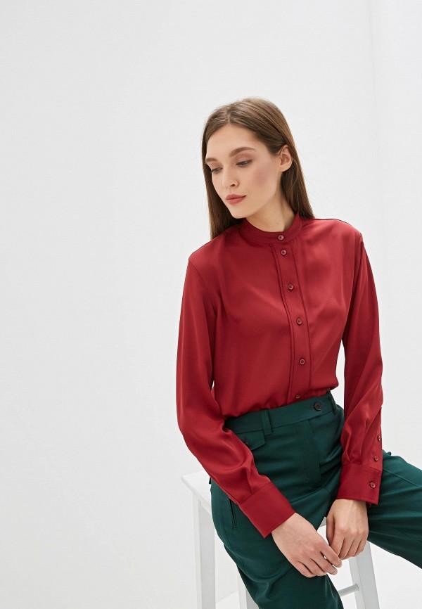 Фото - Блузу Calvin Klein бордового цвета