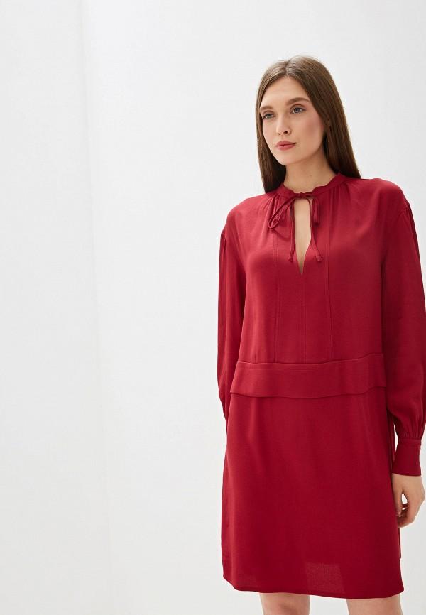 Фото - Платье Calvin Klein бордового цвета