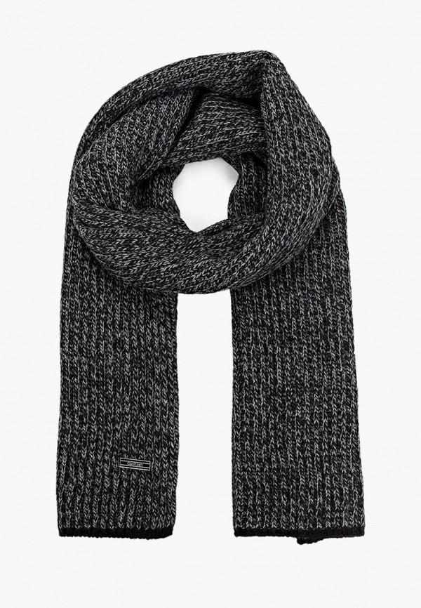 мужской шарф calvin klein, черный