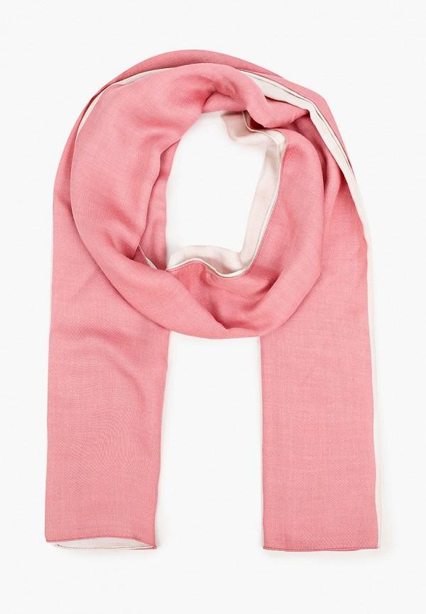 женский палантин calvin klein, розовый