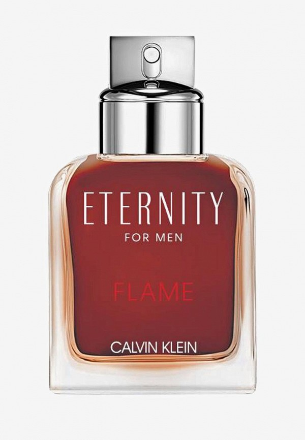 Купить Туалетная вода Calvin Klein, Eternity Flame For Man 50 мл, ca105lmelfo3, прозрачный, Весна-лето 2019