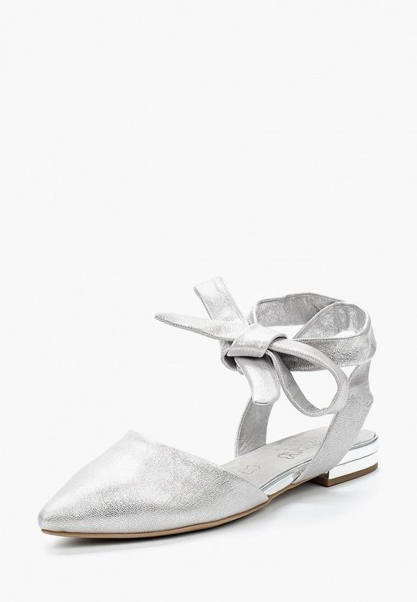 Купить Туфли Caprice, CA107AWAAIW3, серебряный, Весна-лето 2018