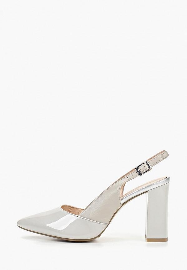 женские туфли caprice, серые