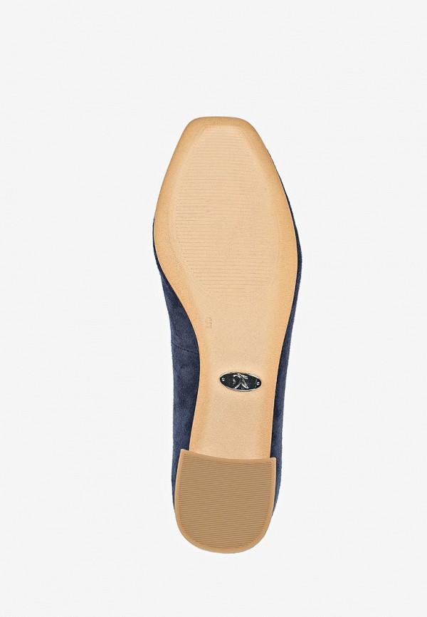 Фото 5 - женские туфли Caprice синего цвета