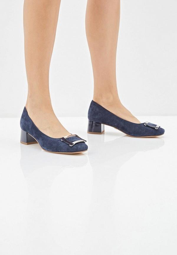 Фото 6 - женские туфли Caprice синего цвета