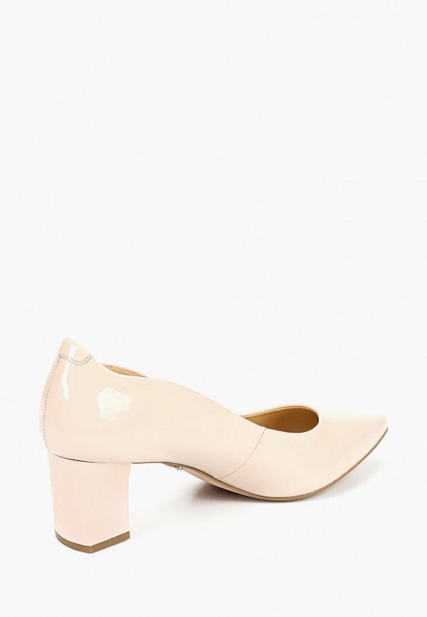 Фото 3 - женские туфли Caprice розового цвета