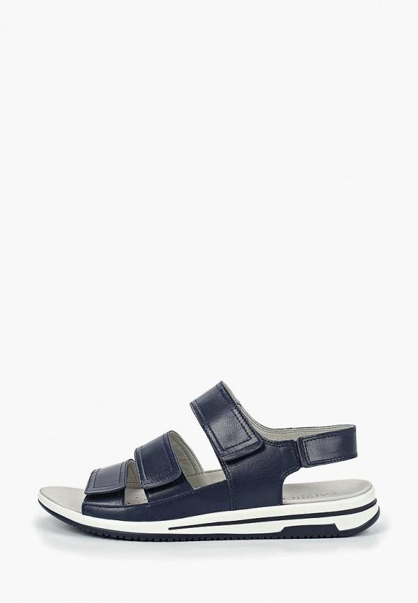 женские сандалии caprice, синие