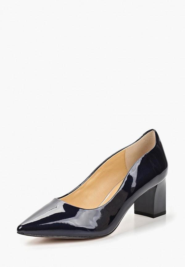 Фото 2 - женские туфли Caprice синего цвета