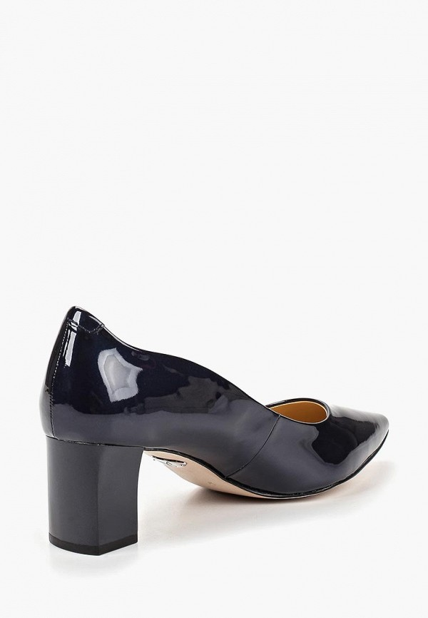Фото 3 - женские туфли Caprice синего цвета