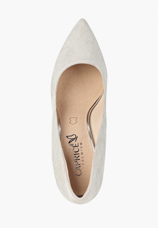 Фото 4 - женские туфли Caprice бежевого цвета
