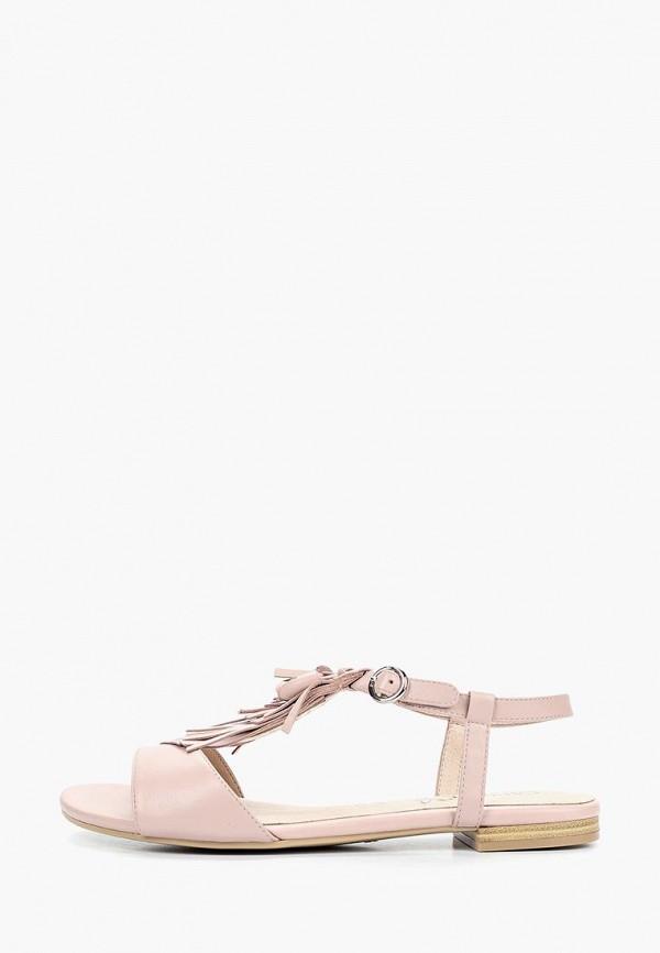 женские сандалии caprice, розовые