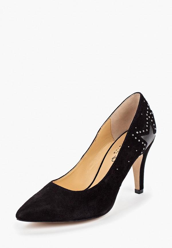 Фото 2 - женские туфли Caprice черного цвета