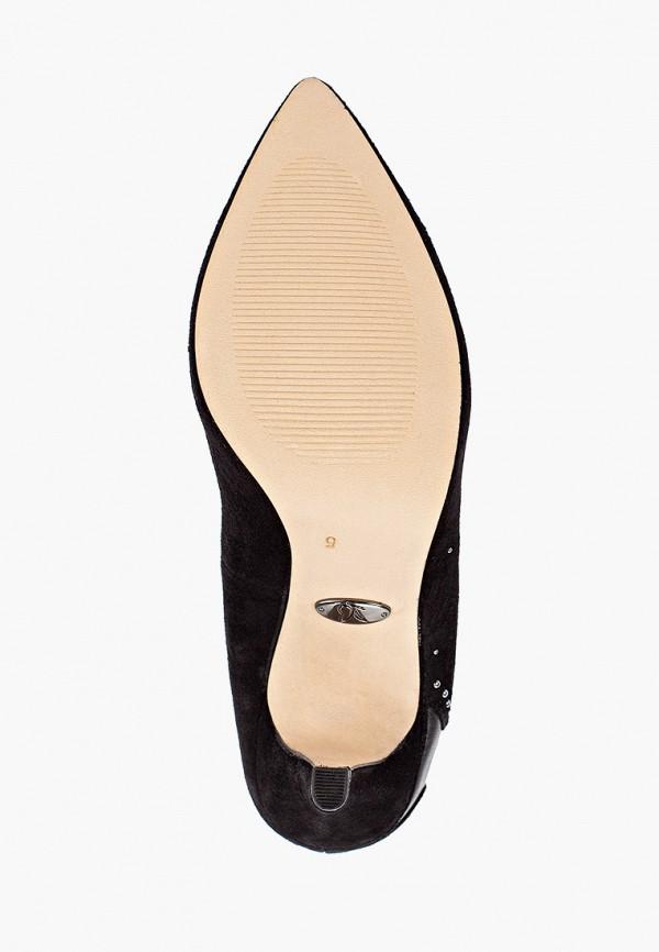Фото 5 - женские туфли Caprice черного цвета