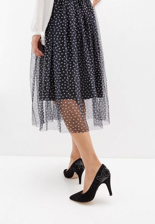 Фото 6 - женские туфли Caprice черного цвета