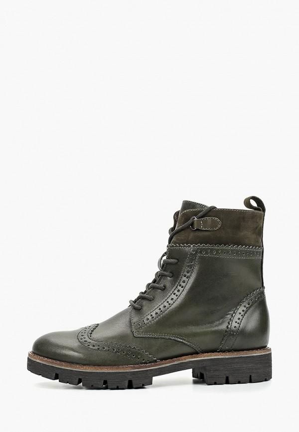 женские ботинки caprice, хаки