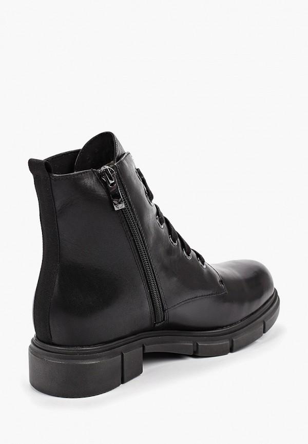 Фото 3 - женские ботинки и полуботинки Caprice черного цвета