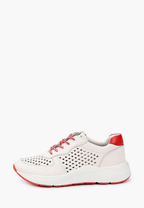 женские кроссовки caprice, белые