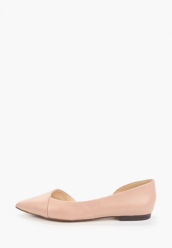 женские балетки caprice, розовые