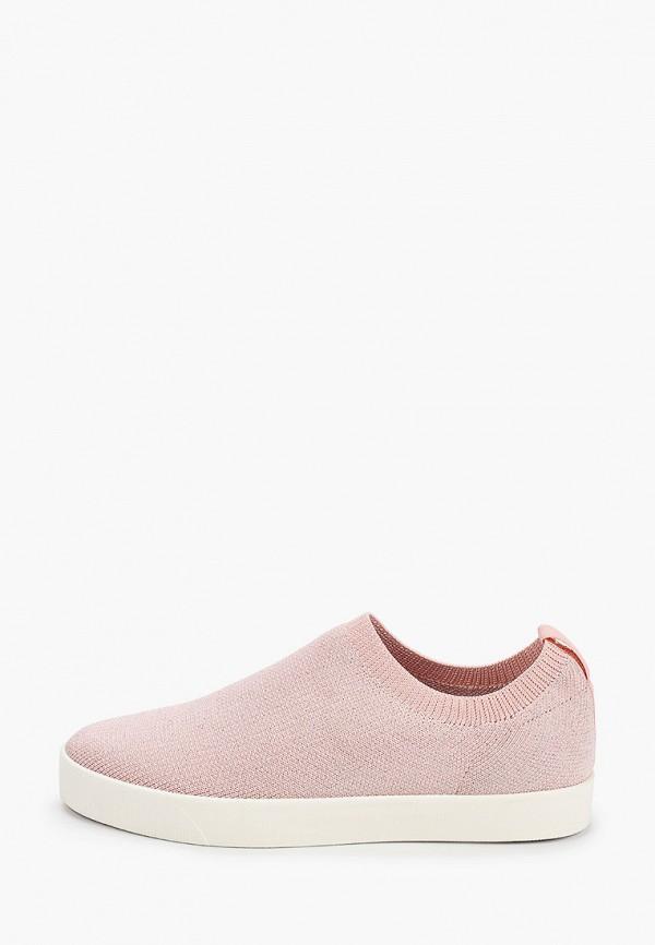 женские слипоны caprice, розовые