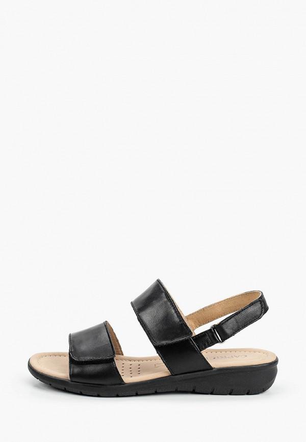 женские сандалии caprice, черные