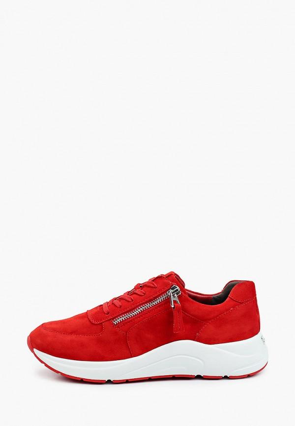женские кроссовки caprice, красные