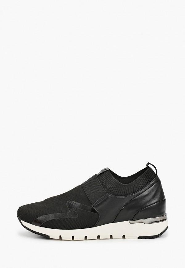 женские кроссовки caprice, черные