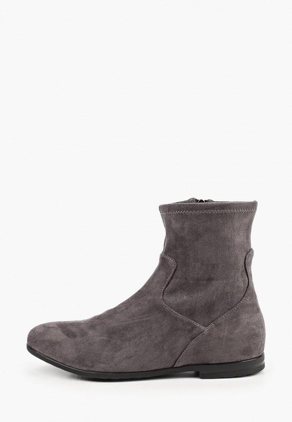 женские ботинки caprice, серые