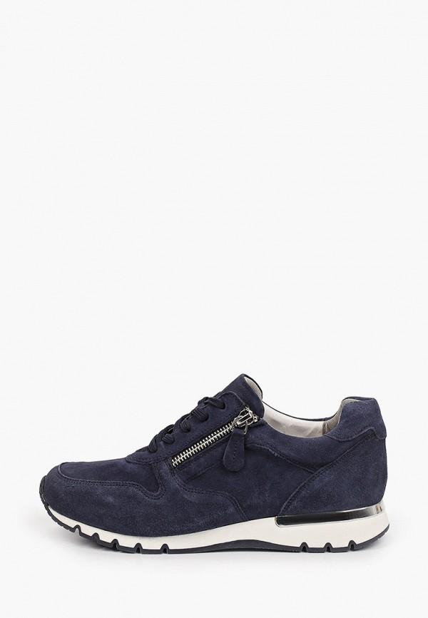 женские низкие кроссовки caprice, синие
