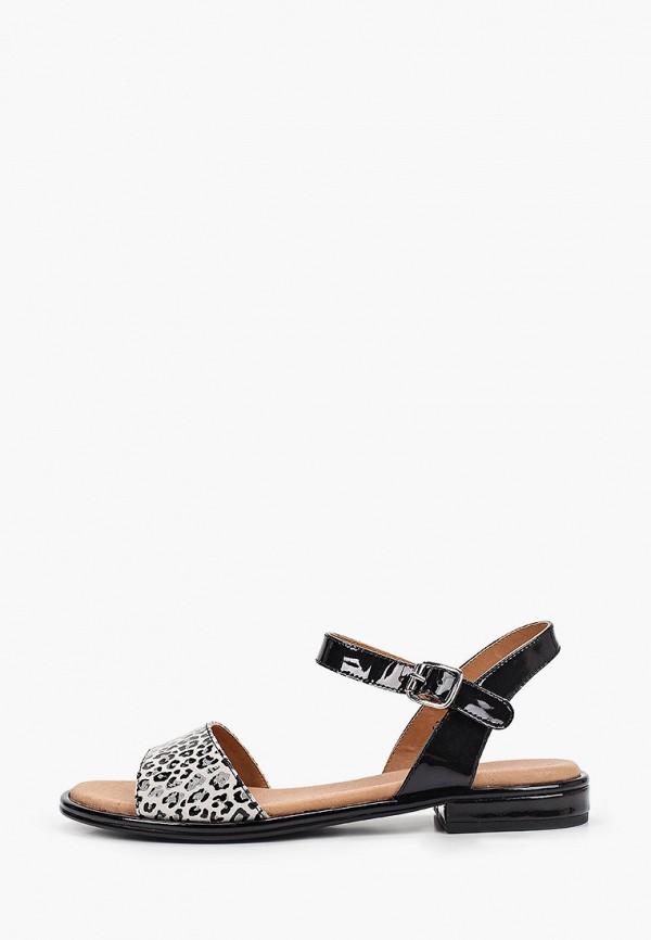 женские сандалии caprice, серые