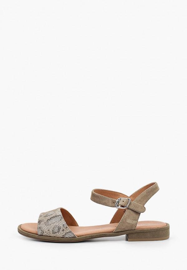 женские сандалии caprice, хаки