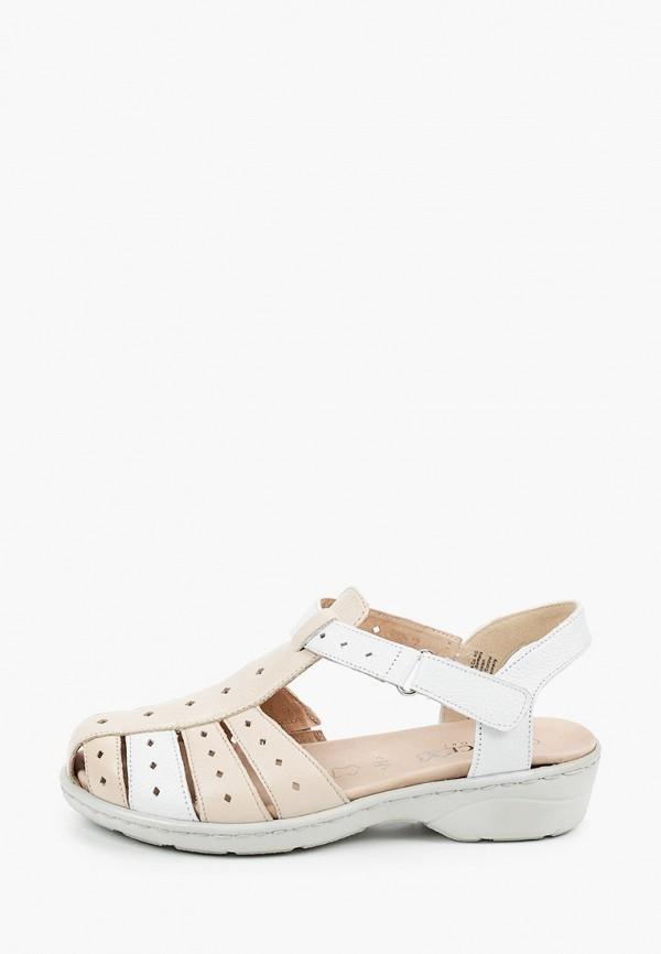 женские сандалии caprice, бежевые