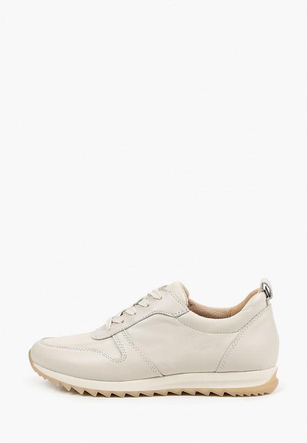 женские низкие кроссовки caprice, серые