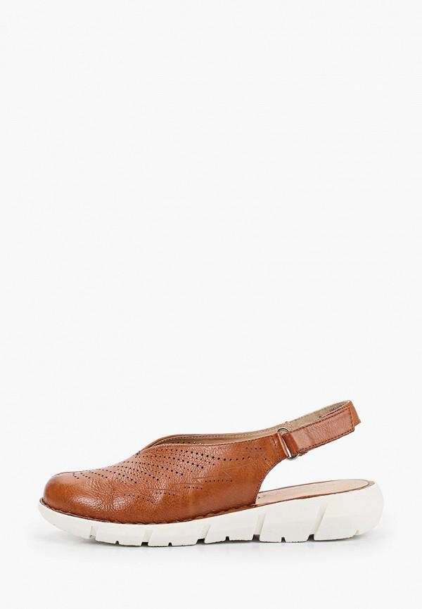 женские туфли caprice, коричневые