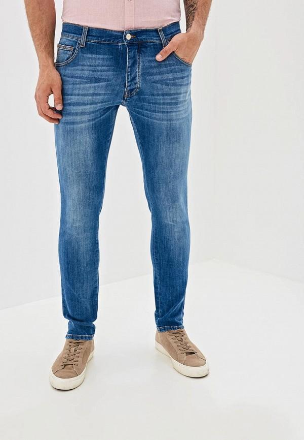 мужские зауженные джинсы castelbajac, голубые