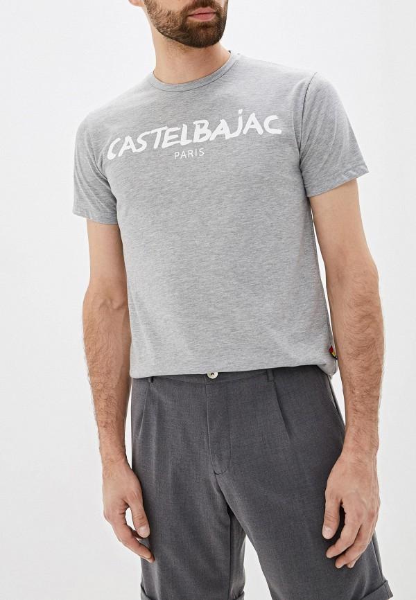 мужская футболка с коротким рукавом castelbajac, серая