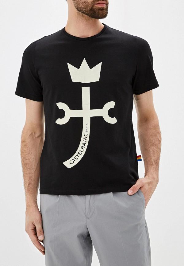 Фото - Мужскую футболку Castelbajac черного цвета
