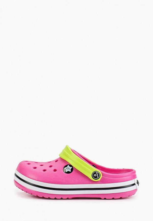 сабо calypso для девочки, розовое