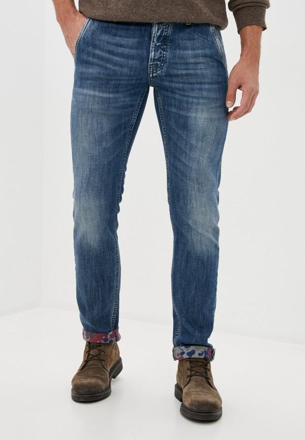мужские зауженные джинсы care label, синие