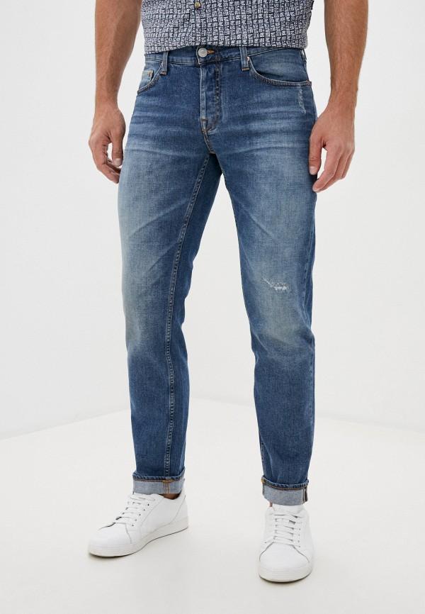 мужские зауженные джинсы care label, голубые