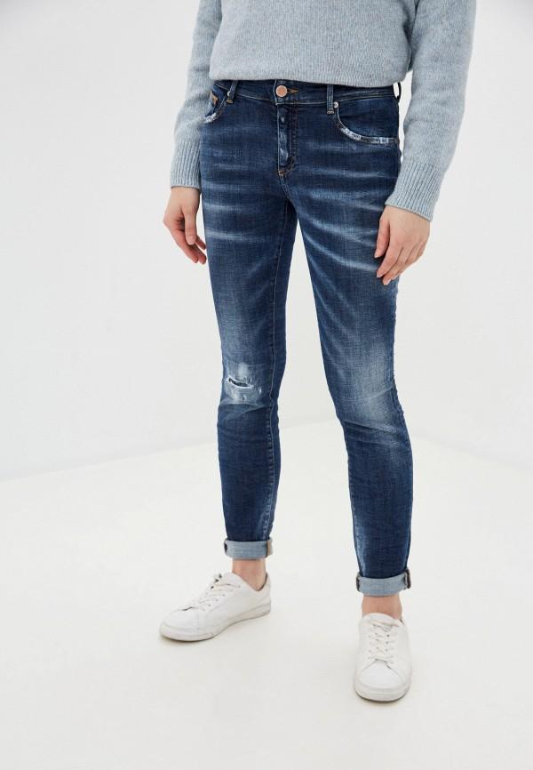 женские джинсы care label, синие
