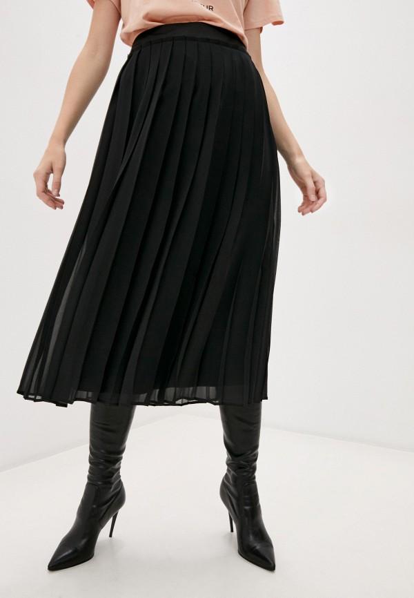 женская юбка cappellini, черная
