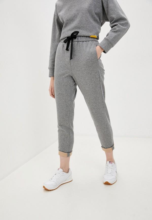 женские брюки cappellini, серые
